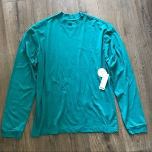 UO Recycled Cotton Mockneck Long Sleeve